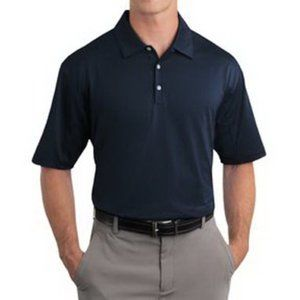 Nike Golf   Blue Sphere Dry Active Polo Shirt L